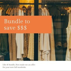 Bundle to save $